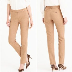 NWOT J. Crew Full Length Maddie Trousers Size 10T